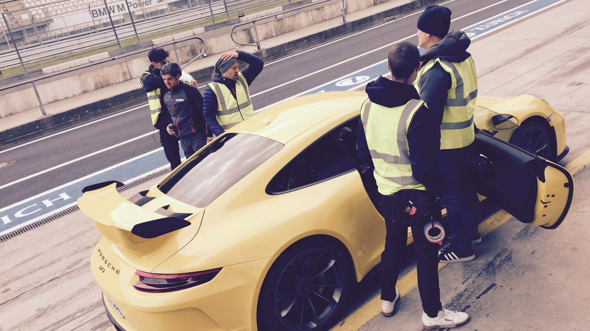 Dunlop - Superhero London - commercial production Germany, local team and equipment, Nürburgring