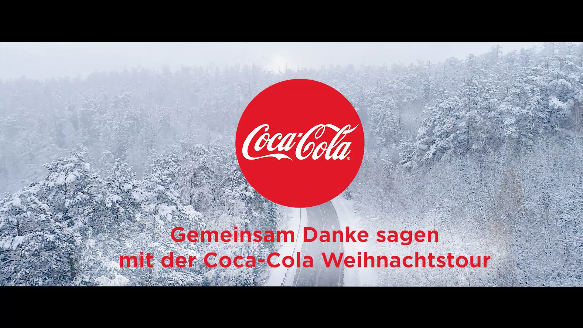 Coca Cola XMAS/Weihnachts shooting 2017 - Endemole Shine Beyond - intro animation